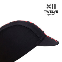 Twelve Squared Aero Cycling Cap - Fiery Red
