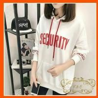 SWEATER SECURITY PUTIH