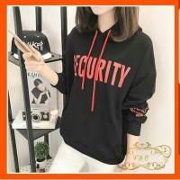 SWEATER SECURITY HITAM
