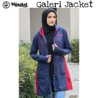 Hijacket Avia Original HJ-AVA NAVY Jacket Wanita Muslimah Jaket Hijab