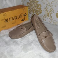 Sepatu Loafer Slip on Peter Keiza Size 38
