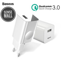 POWER ADAPTOR CHARGER BASEUS QUICK CHARGER QC 3.0 FAST 24W ORIGINAL