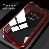 Case Magnet Anti Baret 2in 1 casing Cover For Samsung S7 edge