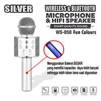 LIGER ORIGINAL Mic karaoke bluetooth Ws858/Mic smule portable speaker