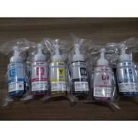 Tinta Epson 673 100 % Original TANPA BOX 1 set 6 Warna