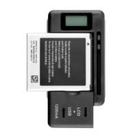 Universal Charger Baterai dengan USB Output Untuk Smartphone