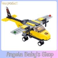 Asli xiaoluban b0360 blok bangunan kompatibel dengan lego 110 Pcs main