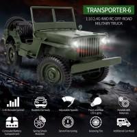 JJRC q65 1 / 10 RC Mobil Jeep 4WD Remote Control 2.4G 4WD