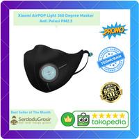 Terlaris Xiaomi AirPOP Light 360 Degree Masker Anti Polusi PM2.5