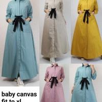 Baby Canvas Dress || KIMONO DRESS