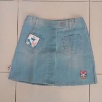 Rok jeans pendek anak 0363