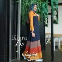 Pakaian Baju Busana Muslim Wanita Long Dress KIARA Gamis Terbaru
