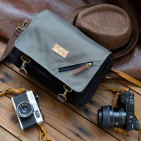 Tas Kamera Sling Bag Camera Mirrorless DSLR Firefly Duncan Black Grey