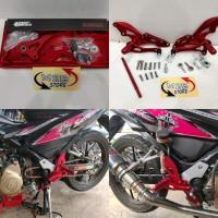 Underbond footstep fastbikes CNC Suzuki Satria fu MERAH RED