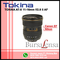 Tokina AF 11-16mm f/2.8 AT-X Pro DX II for CANON