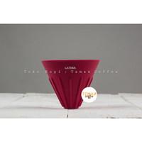Latina - Silicone Coffee Dripper Viva Red