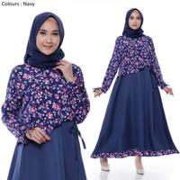 Gamis Muslim Original | Jihan Maxi | Dress Wanita Original
