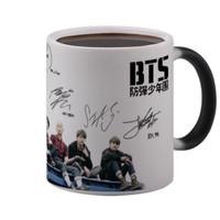 Magic Mug Signature BTS Mug Kpop K Pop Mug Ajaib Bunglon Import 325 ml