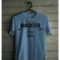 Kaos Manchester City Tshirt Baju Big Size Bola Mancester FC
