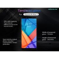 Xiomi Mi Max 3- Nillkon Tempered Glass Amazing H+ Pro