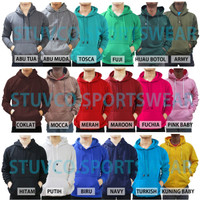 Best seller !!! Jaket Sweater Polos Hoodie Jumper Unisex Full Colours