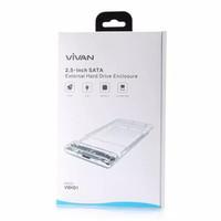 "Vivan VSHD1 SSD HDD Enclosure 2.5"" Inch SATA USB 3.0 External Case"