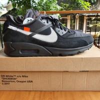Nike Airmax 90 x Off White Black