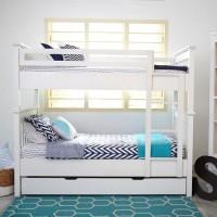 Furniture Kamar Set Minimalis Tempat Tidur Dipan Anak Tingkat Susun 3