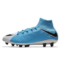 Sepatu Bola Nike Hypervenom Phatal 3 DF AG-Pro Blue Original 860644-1