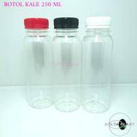 botol kale 250 ml / botol plastik 250 ml