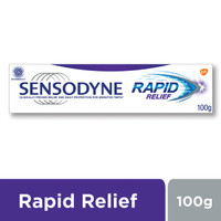 Sensodyne Pasta Gigi Sensitif Rapid Relief Advanced Care 100gr NEW