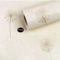 Wallpaper Luxury Dandelion Gold | 45Cm x 10m