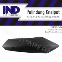 Cover Tutup-Tameng Pelindung Knalpot-Kenalpot-Muffler Mio 125 M3-Z-S