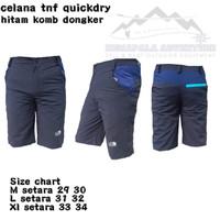 Celana pendek hiking quickdry original avtech no consina eiger tnf