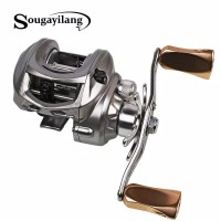 sougayilang reel Bc baitcasting handle kiri or kanan metal spool 10 bb
