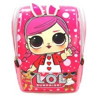 Tas ransel sekolah anak TK jepang 3D LOL PITA