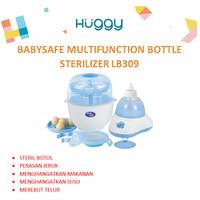 Babysafe LB309 Baby Safe Bottle Sterilizer Multi Function Botol Steril - Tanpa Bubble