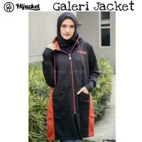 Hijacket Avia Original HJ-AVA BLACK Jacket Wanita Muslimah Jaket Hijab