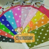 Taplak Meja / Table Cover Motif Polkadot