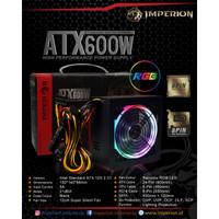 Power Supply / PSU Imperion P600 600W LED VGA 8 Pin RGB
