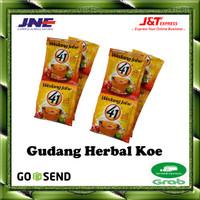 Wedang jahe 41 orginal   Penghangat tubuh   Per renceng (10 sacshet)