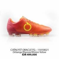 Sepatu bola ortuseight catalyst oracle fg orange