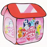 mainan tenda tendaan anak rumah rumahan frozen kuda pony hello kitty