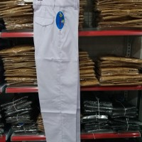 Celana Panjang Putih Seragam Sekolah SMP SMA / Pakaian Seragam SMP SMA