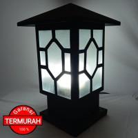 termurah baru lampu hias minimalis pagar pilar new tipe