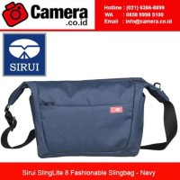 Terbaru Sirui SlingLite 8 Fashionable Slingbag - Navy / Tas kamera