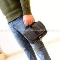 Terbaru Tas Canvas Sling Bag Case Kamera Mirrorless XA3 XA5 XA20 A6000