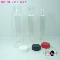 botol kale 500 ml / botol plastik 500 ml