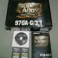 ASROCK 970A-G3.1 + AMD FX 8320 VISHERA