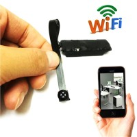 WIFI IP pinhole spy camera wireless mini nanny cam digital video hidde